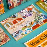 Mofakera Agenda Set Travel Stamps for 2021