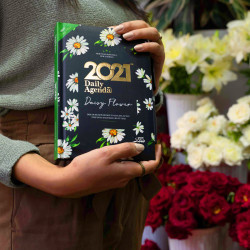 Mofakera Daisy Flower Agenda Only for 2021