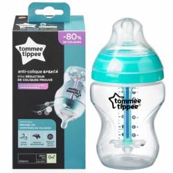 زجاجة تومي تيبي المتقدمة المضادة للمغص X1 ، 260 مل مع أنبوب استشعار للحرارة