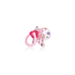 Nuby Pacifier Orthodontic GEO (6-18 Months) - Pink