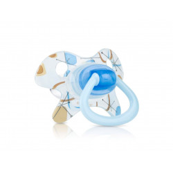 Nuby Pacifier Orthodontic GEO (0-6 Months) - Blue
