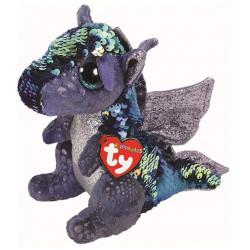 TY Toys Beanie Boos Flippable Dragon Kate Gray/Blue Regular