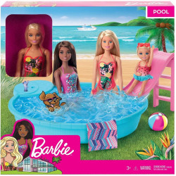 Barbie Doll and Pool Playset