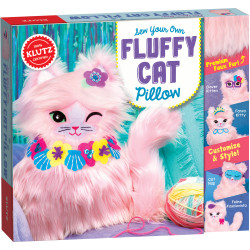 Scholastic Sew Your Own Fluffy Cat Pillow