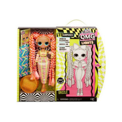 L.O.L. Surprise! O.M.G. Lights Dazzle Fashion Doll with 15 Surprises, Multi