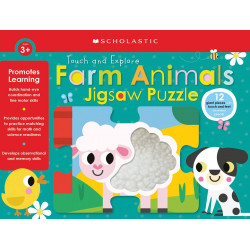 Scholastic  Farm Animals Jigsaw Puzzle