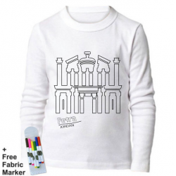 Mlabbas Petra Kids Coloring Long Sleeve Shirt 12-13 years