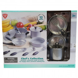 PlayGo Chef's  Collection 12 PCS (Metal  CookWare)