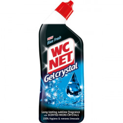 WC Net Toilet Cleaner Gel Crystal Blue Fresh 750ml