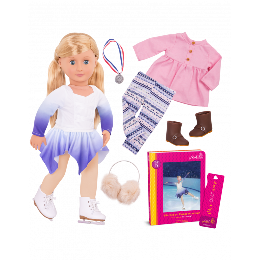 Our Generation Deluxe Doll with Book - Katelyn