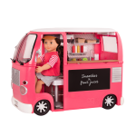 Our Generation Grill To Go Food Truck Pink
