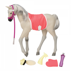 "Our Generation Sterling  Mustang Foal  Horse Horse for 18"" Doll"