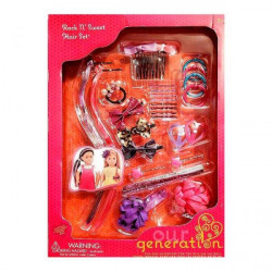 Our Generation Accessory Set Rock N' Sweet Hair Set
