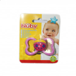 NUBY Classic Orthodontic Soother +18m - Pink