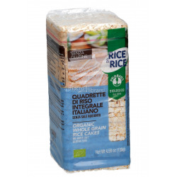 Pro Bios Organic Whole Grain Rice Cakes, with No Salt Added