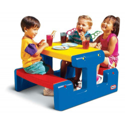 Little Tikes Primary Junior Picnic Table
