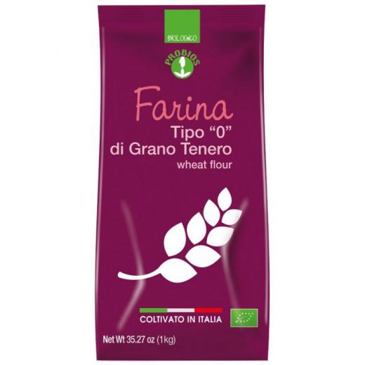 Probios Organic Type 0 Wheat Flour 1Kg