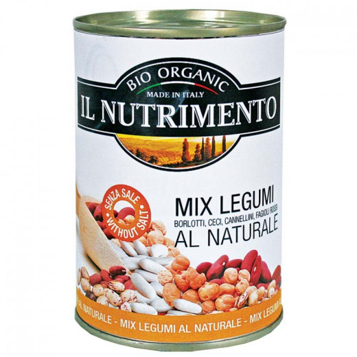 IL Nutrimento Organic Mixed Pulses In Water 400g