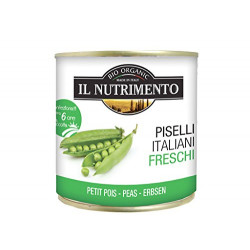 IL Nutrimento Organic Peas in Water 340g
