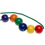 Melissa & Doug Primary Lacing Beads