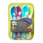 Tommee Tippee Feeding Spoons, 5 Count, Multi Colors