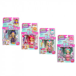 Rosha Shopkins Shoppies S4 W1 Theme Doll, 1 Pack, Assorted models, Random Selection