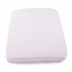 Chicco Next2Me Crib Set 2 Fitted Sheets – Pink Pois