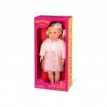 Our Generation Millie Doll With Bright Pink Dress