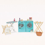 Our Generation Washer Dryer Tumble and Spin Laundry Set
