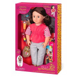 """Our Generation Rayna And """"The Foodie Friends Project"""" 46cm Doll"""