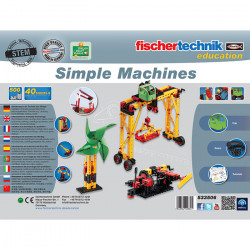 Fischetechnik Simple Machines - Make everyday technology understandable and ensure lasting comprehension!