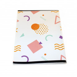 ABC Sleeved notebook Arabic 80 pages, White Cover