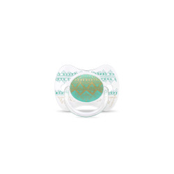 Suavinex Pacifier Premium Couture Physiological Teat 0-4 months - Green