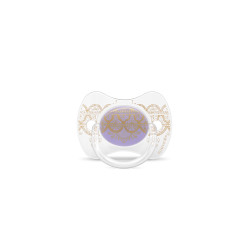 Suavinex Pacifier Premium Couture Physiological Teat 0-4 months - Lilac