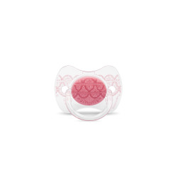 Suavinex Pacifier Premium Couture Physiological Teat 0-4 months - Pink
