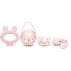 Suavinex Premium Hygge Baby Gift Set - Pink