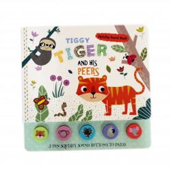 Dar Al Ma'aref- Tiggy Tiger and his Peers - Squishy Sound Book