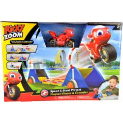 Ricky Zoom Ricky Speed & Stunt Playset