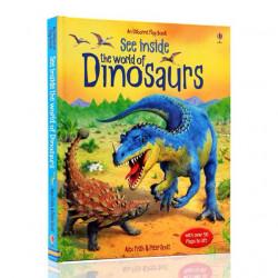 Usborne  - See Inside the World of Dinosaurs