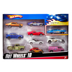 Hot Wheels - 10 Car Pack (styles May Vary) - Assortment