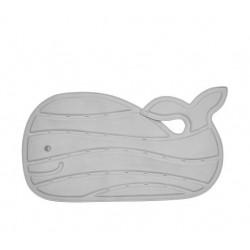 Bath Mat with Grey Delphine Design