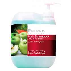 Energy Hair Shampoo With Green Apple Extract - 5l