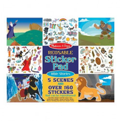 Melissa & Doug Bible Stories - Reusable Sticker Pad