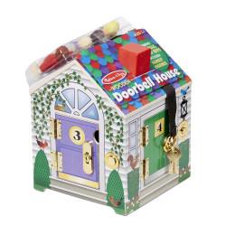 Melissa & Doug Doorbell House Toy