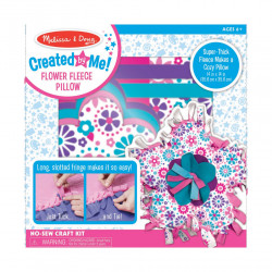Melissa & Doug Created by Me! Flower Fleece Pillow