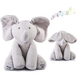 Baby Animated Flappy Soft Stuffed Elephant