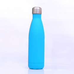 Genioworld Thermos Water Bottle 500ml -Blue