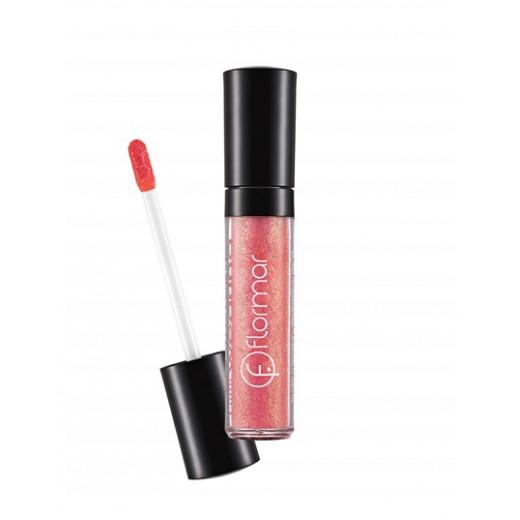 Flormar Long Wearing Lipgloss - L402 Sparkling Pink