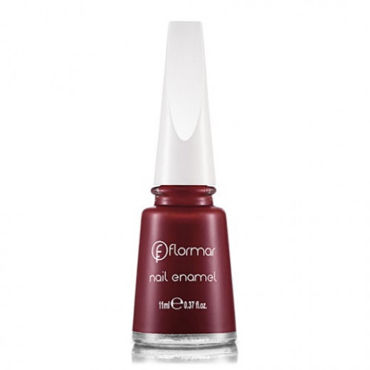 Flormar Polish Nail Enamel 228 Bordeaux red