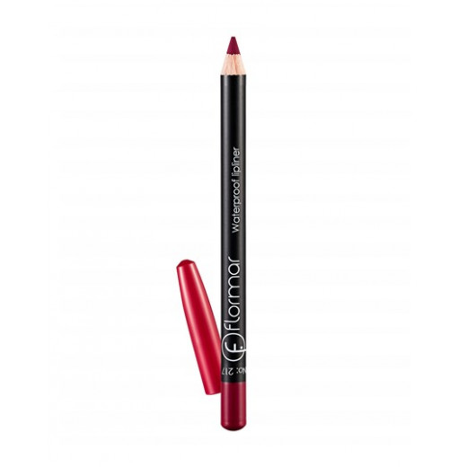 Flormar - Waterproof Lipliner Pencil 217  Chic Crimson